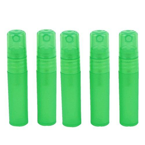 DealMux Plastische, kosmetische Spray-Presse-Flasche Duftstoff-Behälter 5ml 5pcs Grün