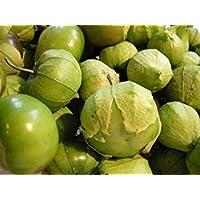 PlenTree 70 + Semillas de tomatilla Verde orgánico no - OGM herencia U. S. Grown pequeña semilla