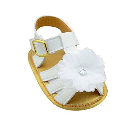 Zapatos de bebé,Xinantime Sandalias de Cuero Flor de la Cuna Las Niñas Infantiles (12)