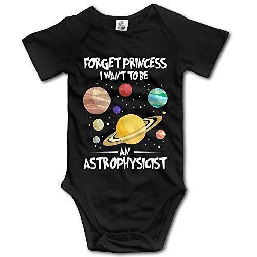Carters Floral Bodysuit (Dama Home Vergiss Prinzessin Ich möchte EIN Astrophysiker Sein Kleinkind Baby Outfit Creeper Kurzarm Overalls)