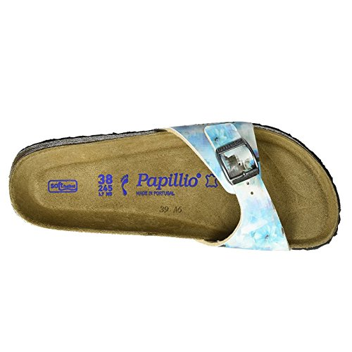 Papillio Womens by Birkenstock Madrid Synthetic Sandals Pixel Blue