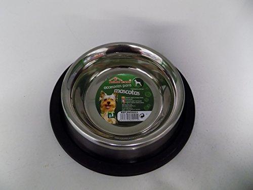 Écuelle pour chiens ou chats en acier 15,5 cm x 2,5 cm