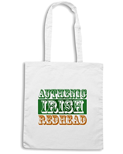 t-shirtshock-borsa-shopping-tir0005-authentic-irish-redhead-light-tshirt-taglia-capacita-10-litri