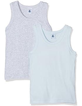 Petit Bateau, Camiseta para Niñas (Pack de 2)