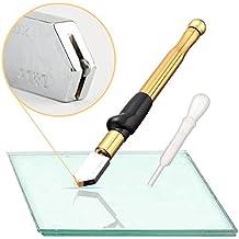 Gama profesional herramienta mango de aleación de carburo de tungsteno cortador de cristal con 2–19mm self-oiling para diseño de botella de vidrio de mosaico y azulejos Vidriera–en forma de bolígrafo cartucho de grosor