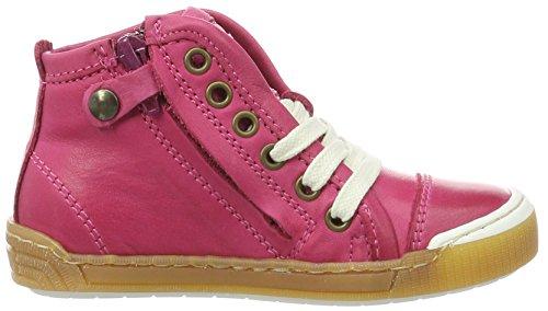 Bisgaard Schnürschuhe, Sneakers basses mixte enfant Pink (4001 Pink)