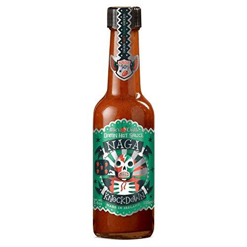 Mic's Chilli Salsa Naga Knockdown MUY PICANTE - 155 gr