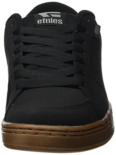 Etnies Herren Kingpin Skateboardschuhe Schwarz (Black/Gum/Grey)