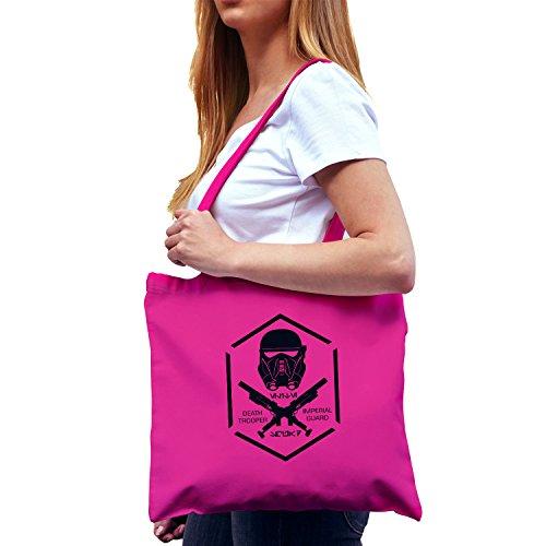 NERDO - Death Trooper - Stoffbeutel, pink