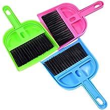 POPETPOP Juego pequeño de Cepillo y en Polvo Limpiador de jaulas pequeñas para cobayas Gatos Erizos