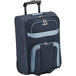 Travelite Trolley para Portátil, 37 Litros, 53 cm, Azul