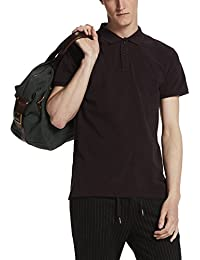 Scotch & Soda Classic Garment Dyed Polo In Cotton Pique Quality, T-Shirt Homme