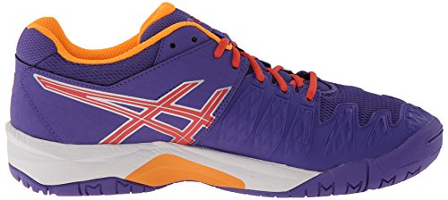 Asics Gel-Resolution 6 GS Synthétique Chaussure de Tennis Lavender-Hot Coral-Nectarine