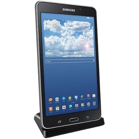 kwmobile Estación de carga micro USB para Samsung Galaxy Tab 4 7.0 T230 / T231 / T235 - Docking station micro USB cable de carga soporte de carga en