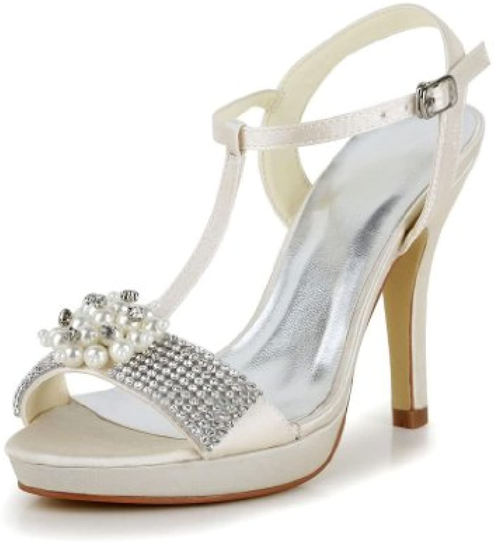 Wedding 37073 Jia de novia Zapatos de tacón nk8P0XwO