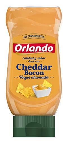 Orlando- Salsa Cheedar Bacon - 245 gr