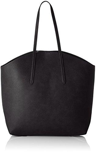 PIECES - Pcnoella Shopper, Borse a spalla Donna Nero (Black)