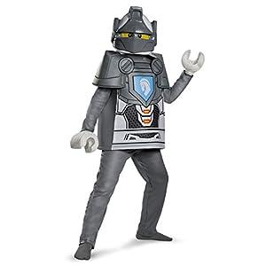 """Lego Costume, Kids Nexo Lance Deluxe Outfit, Small, età 4–6Anni, Altezza 4'0cm–4' 11/2""""  LEGO"""