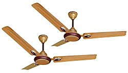ACTIVA 48 INCHES 5 STAR***** CEILING FAN GALAXY-1 GOLDEN BEIGE - PACK OF TWO
