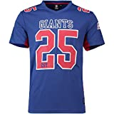 Majestic Athletic New York Giants NFL Moro Poly Mesh Jersey Tee T-Shirt Trikot