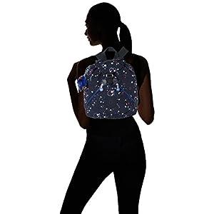 41UbK1UgYbL. SS300  - Kipling - Bustling, Mochilas Mujer, Mehrfarbig (Galaxy Party), 27x32.5x13 cm (B x H T)