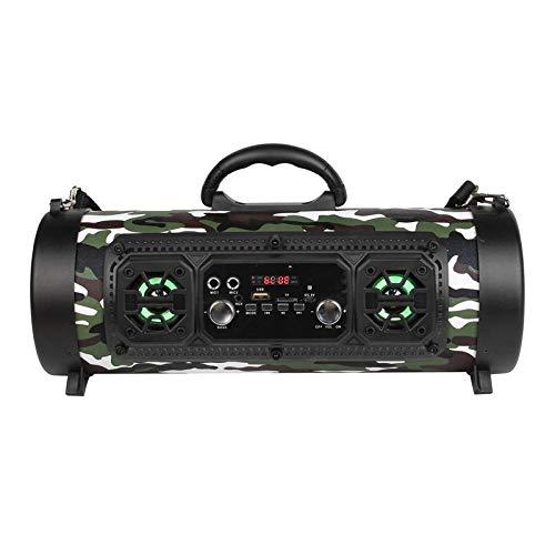 Bluetooth-Lautsprecherrohr im Freien, drahtlose Trommel - Tarnung ()