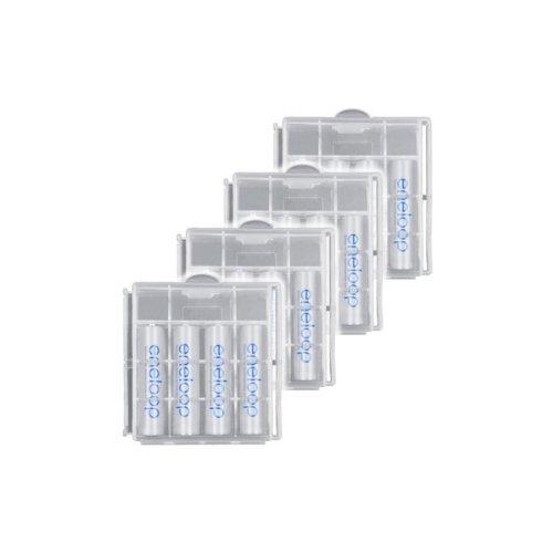 Sanyo Eneloop AAA batteria (800mAh, 16-Pack) [Accessori]