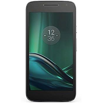 Lenovo Moto G4 Play - Smartphone de 5'' (Dual SIM, 4G, Cortex-A53, RAM de 2 GB, Memoria Interna de 16 GB, cámara de 8 MP, Android 6), Color Negro
