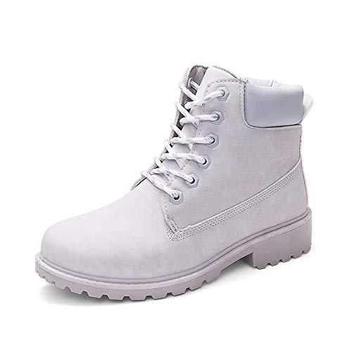 Fascino-M』 Unisex Damen Herren Hiking Suede Combat Boots Stiefeletten Worker Boots Profilsohle Flandell Martin Stiefel Komfortable - Golf Team Namen Und Kostüm