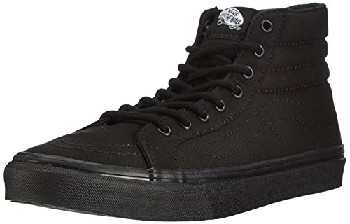 Vans Unisex SK8-HI SLIM Sneaker, Schwarz Black BKA), 39 EU