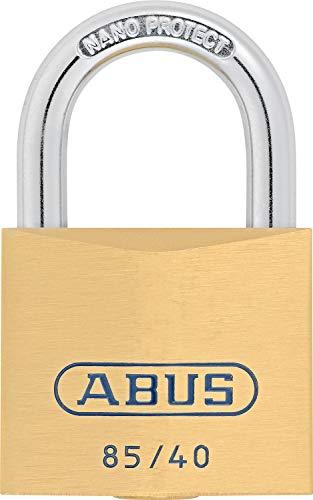 ABUS Messing-Vorhangschloss 85/40, 02378