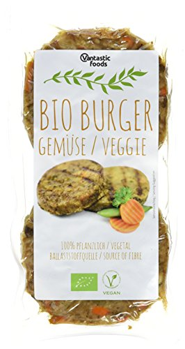 Vantastic Foods Bio Burger Gemüse, vegan, 200 g Test