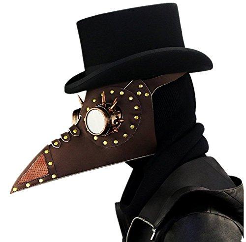 Wei zhe Männlich und Weiblich mittelmeerschönheit Steampunk Pest Schnabel Maske Halloween Requisiten