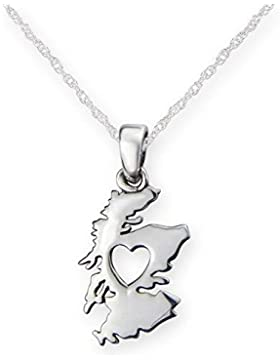 aus dem Herzen von Schottland Silber Anhänger