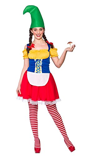 Cute Gnome and Tights Ladies Fancy Dress Garden Troll Elf Adults Costume  sc 1 st  Gnomelands & Cute Gnome and Tights Ladies Fancy Dress Garden Troll Elf Adults ...
