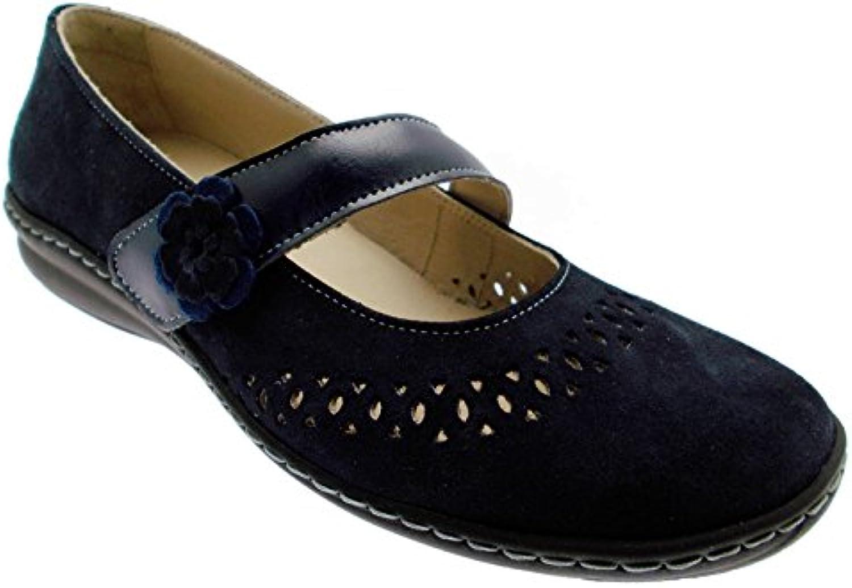 MELLUSO - Bailarinas para mujer Azul azul