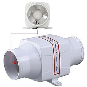 Tradico® New Marine Boat DC12V 3Inch Electric in Line Bilge Air Blower Ventilation Fan
