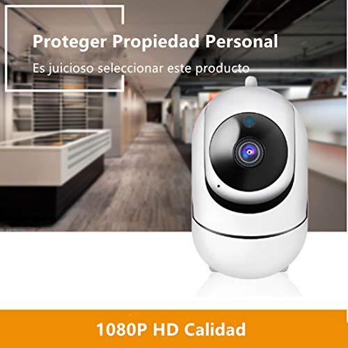 Cámara de vigilancia Cámara inalámbrica WiFi Cámara Visión Nocturna,  HD,  1080P