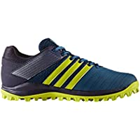 adidas SRS 4 m Azul Amarillo – Zapatos de Hockey AW17, Color Blue Night/