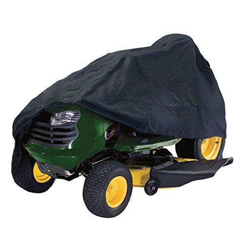 dDanke étanche résistant aux UV protégé contre la poussière Polyester léger Oxford tondeuse à gazon tracteur Housse 245*50*140 cm (Noir)