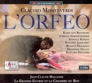 Monteverdi - L'Orfeo / van Rensburg · Gerstenhaber · Jaroussky · Deletré · La Grande Écurie et la Chambre du Roy · Malgoire