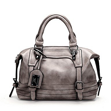Womens Fashion Classic Crossbody Bagred,grigio Brown