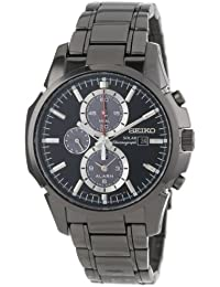 Seiko Solar Alarm Chronograph with Date Men's watch #SSC095