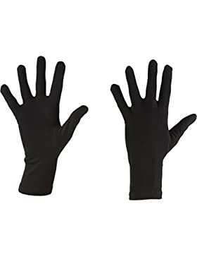 Icebreaker Oasis Liners Guantes, Hombre, Negro, S
