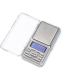 Balance électronique,iitrust 500g * 0.01g Mini Balance Numérique de Poche pour les Bijoux/ le thé/ la levure/ le café Cuisine Gram