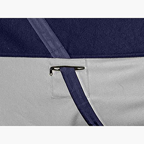 Busse Abschwitzdecke Comfort Plus Decke Pferdedecke (145, Navy grau) - 3