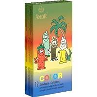 Amor Color: 12 farbige, aromatisierte Kondome preisvergleich bei billige-tabletten.eu