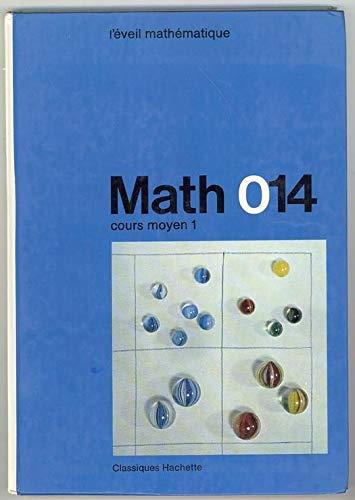 Math 014 CM1 eleve