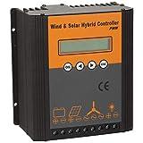 Regolatore di carica per energia solare ibrida eolica Regolatore di carica PWM Regolatore di carica solare eolica 24V(600W)