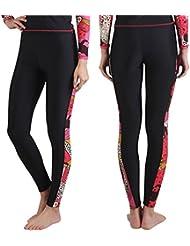 Fortuning's JDS® Nouveaux UPF 50+ à long surf pantalons piscine de plongée pour les dames